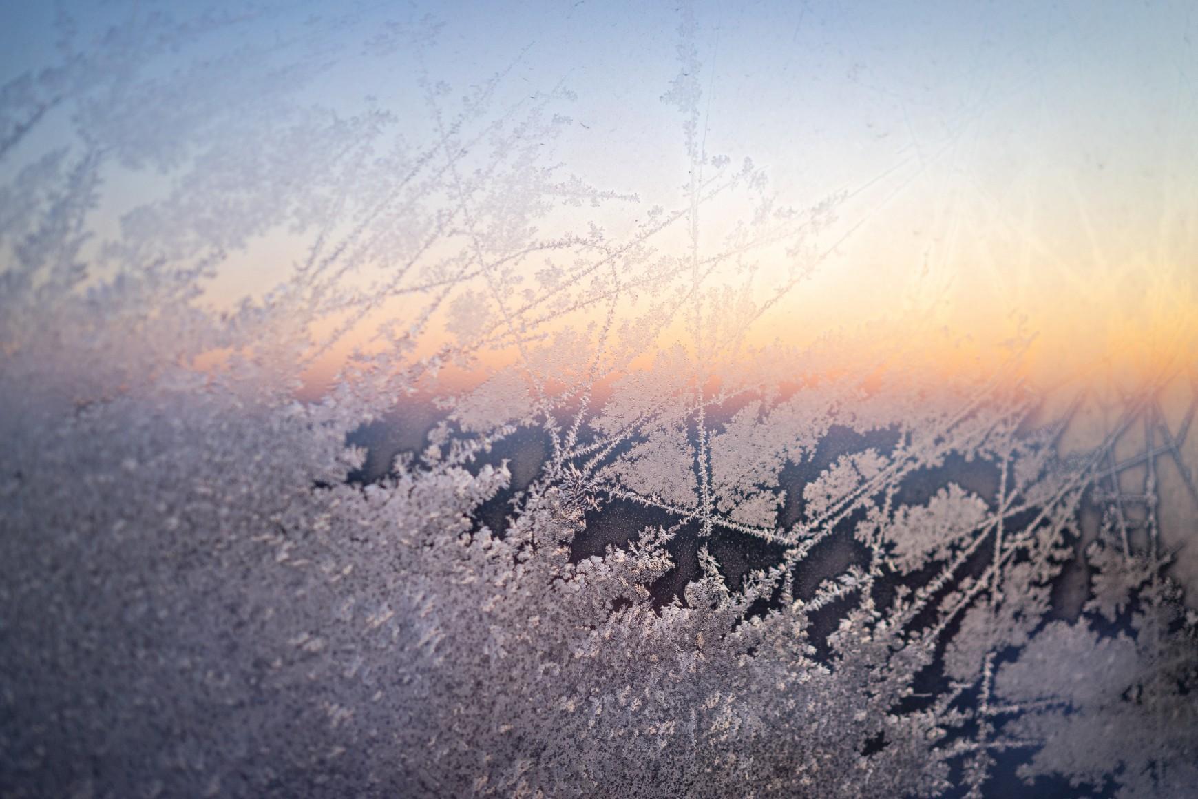 Morgensonne im Winter