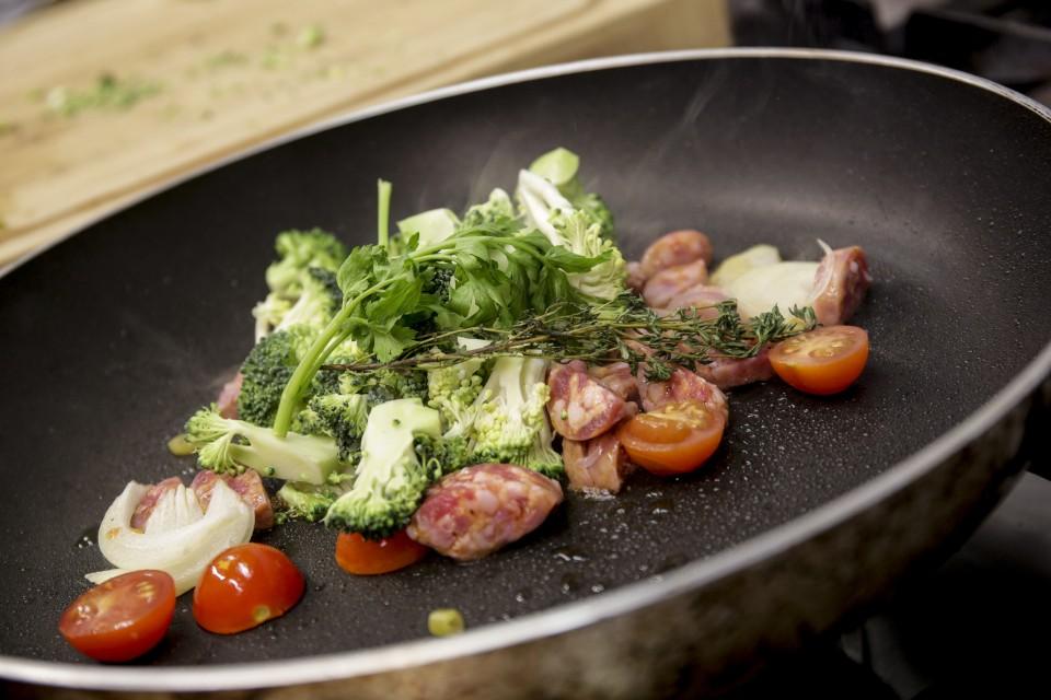 Raffa´s Nudeln mit Salsiccia