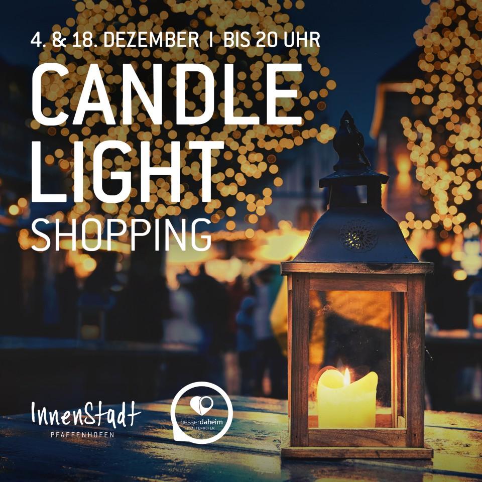 Heute Abend: CandleLight-Shopping in der Innenstadt